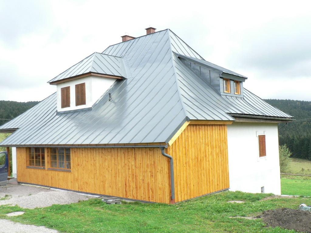 LINDAB - falcovaná krytina PLX – Klempířské práce Střechy Matějka