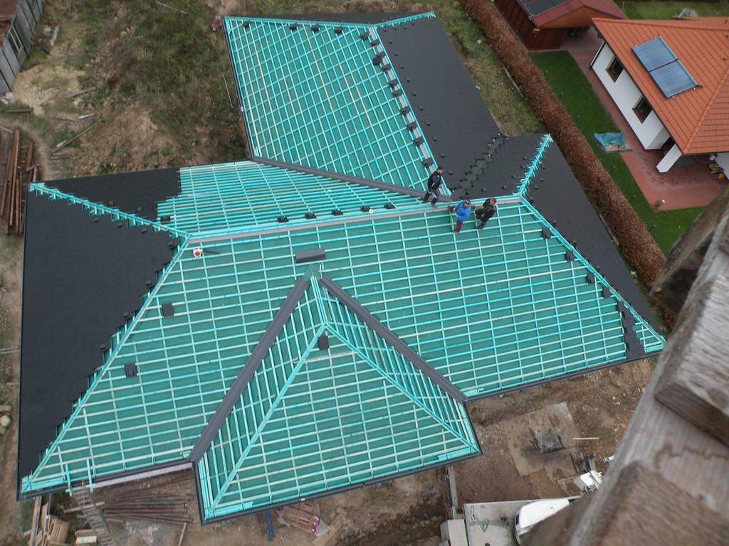 Příprava pro krytinu Bramac Tegalit – Pokrývačské práce Střechy Matějka