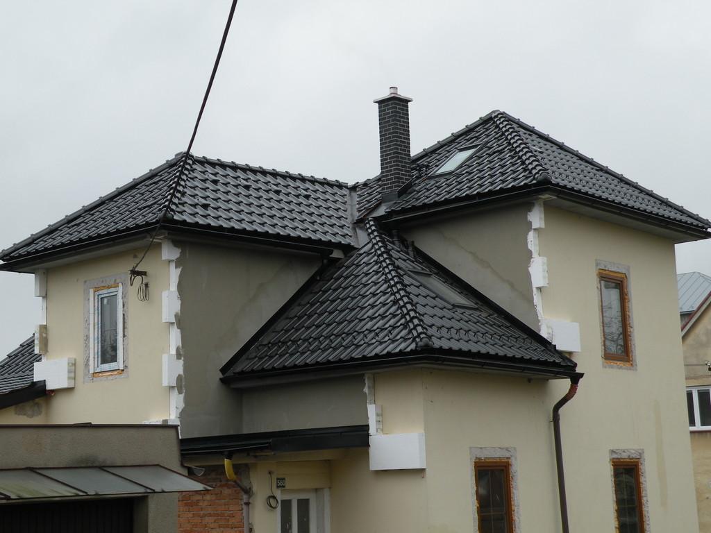 Střešní krytina ROBEN PIEMONT glazura – Pokrývačské práce Střechy Matějka